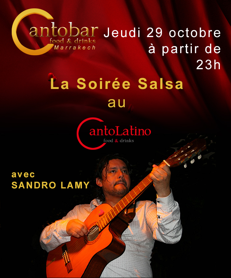 Cantobar Marrakech - Salsa Night